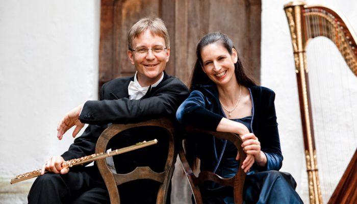 Sonntag, 26. März 2017, 19.30 Uhr – Michael & Regine Kofler Rezital für Flöte und Harfe