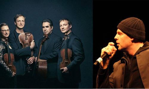 Kuss Quartett mit Bas Böttcher