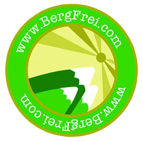 Bergfrei Logo