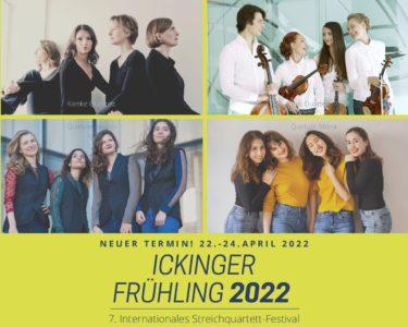 Neuer Termin! Ickinger Frühling 22.–24. April2022